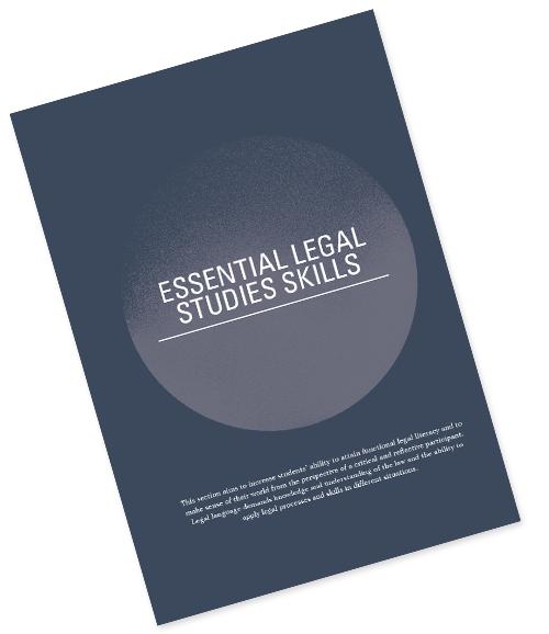 ESSENTIAL LEGAL STUDIES SKILLS