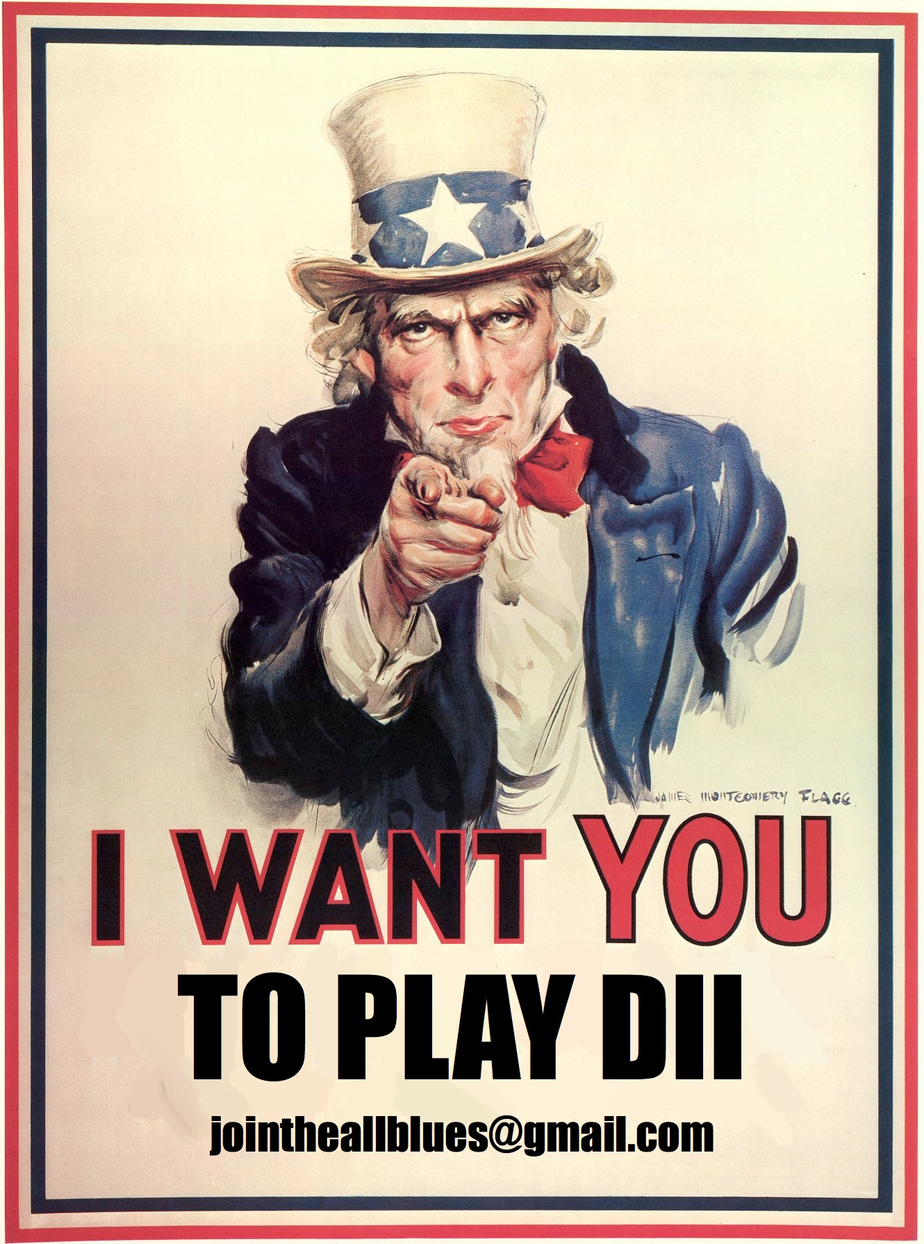 Our DII program is looking for more players. Whether you've played before or not, we want you at practice. Practices are from 7 to 9pm on Tuesdays and Thursdays at the Gilman Turf Fields. All you need is a pair of cleats, a mouthguard, and a desire to play rugby. For more information, e-mail jointheallblues@gmail.com -- or just show up!