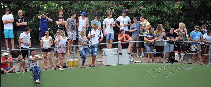 The Uni Army is born - 27th Feb 2011 - 1st Grade Limited Overs Final - Manly Oval