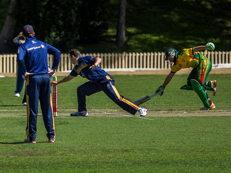 ... ends in an Ashton May take and runout