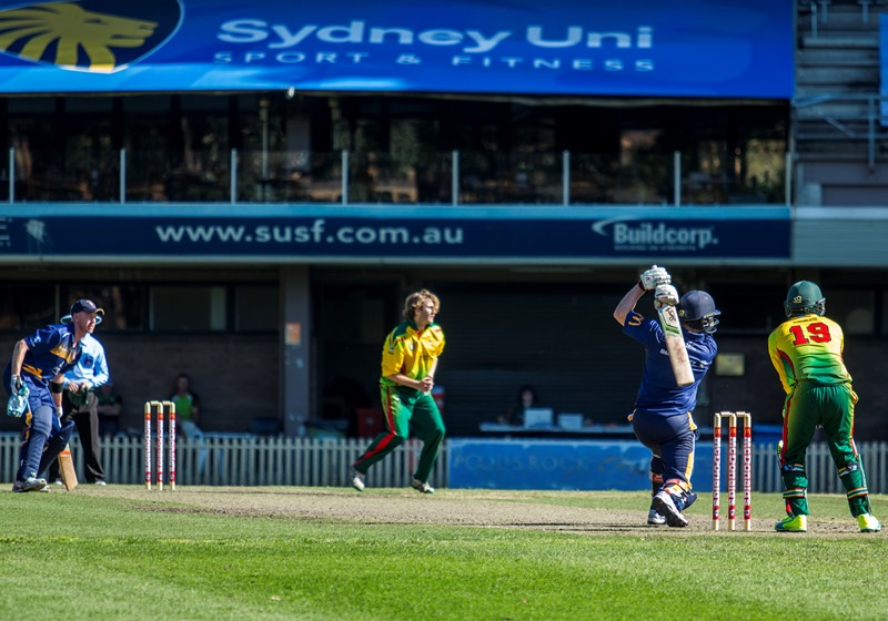 Fun & Exciting: - Sydney Uni's 'Lions' will play limited overs formatswith plenty of attacking shots to be played.