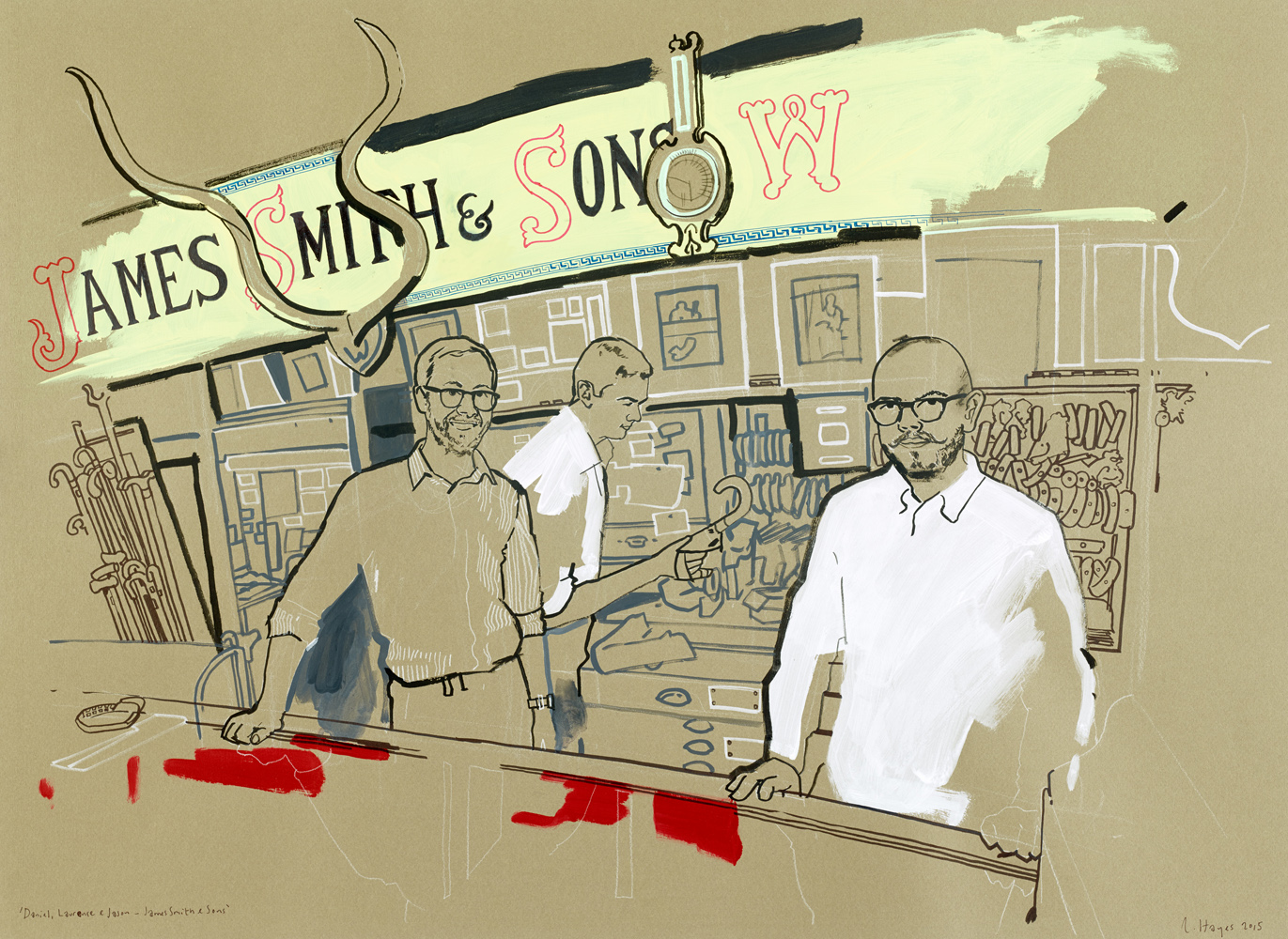 daniel, laurance & jason. james smith & sons, umbrella shop-new oxford street