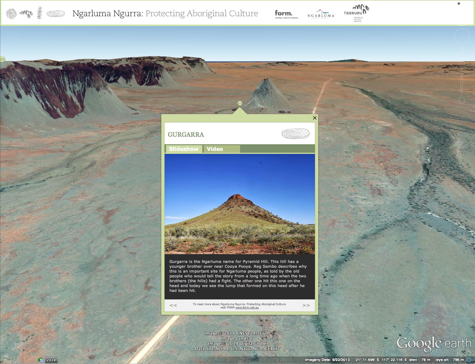 Cultural Mapping - Image: Ngarluma Ngurra 2014