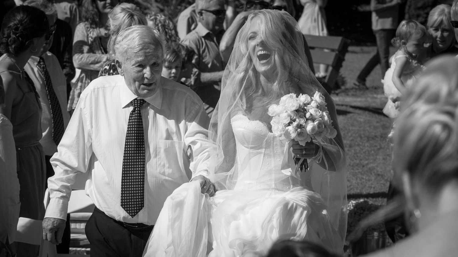 Make sure you get photographs of people special to the bride and groom*