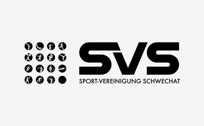 Pictograms incorporated with existing SVS logo