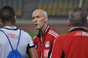 "Bob Bradley has earned the respect of players and locals, who call him ""Captain Bob"""