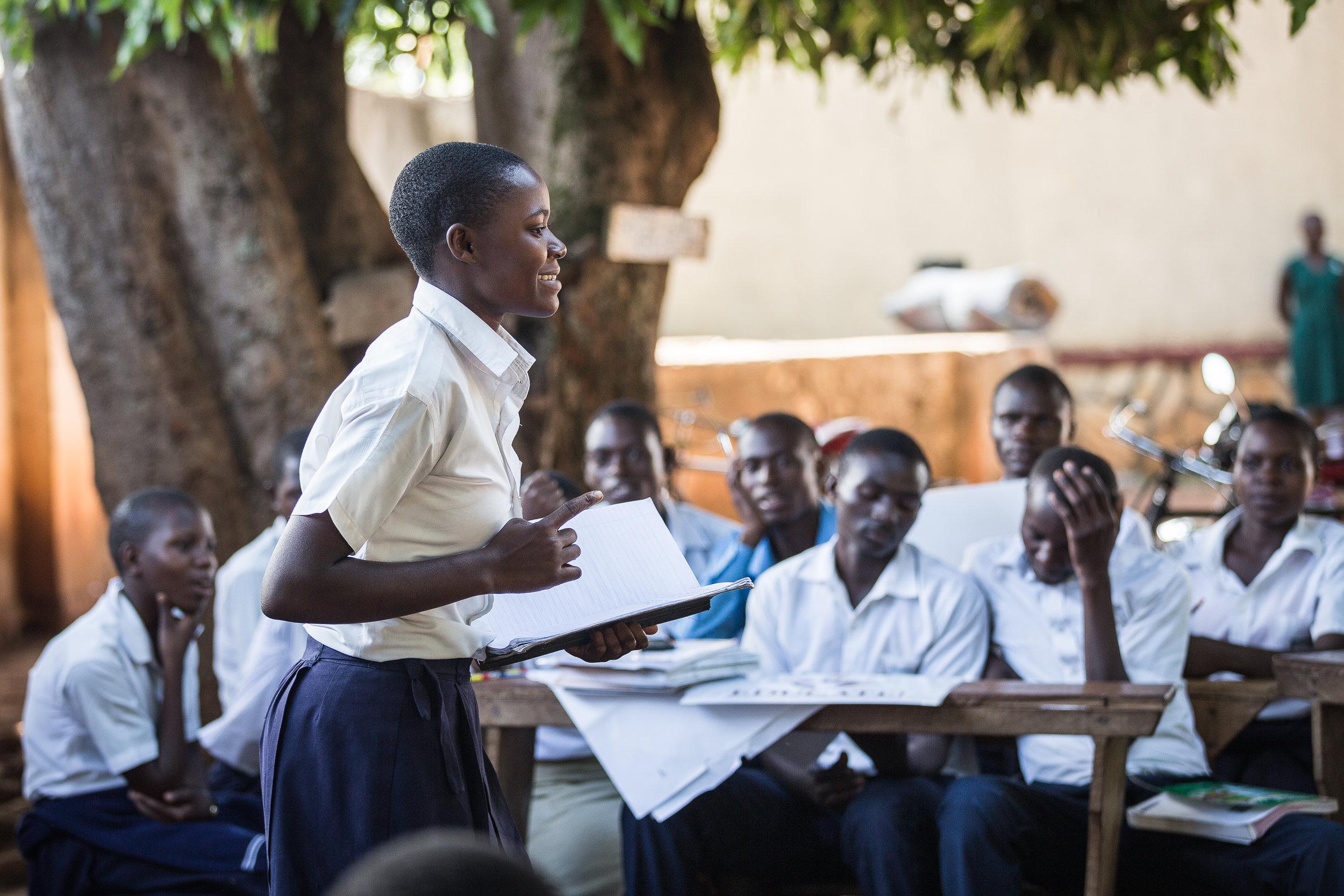 Direct Implementation: - In-School Programs