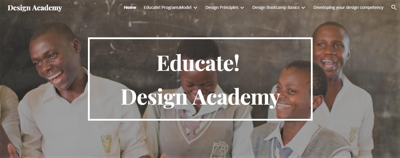 Design Academy homepage screenshot.PNG