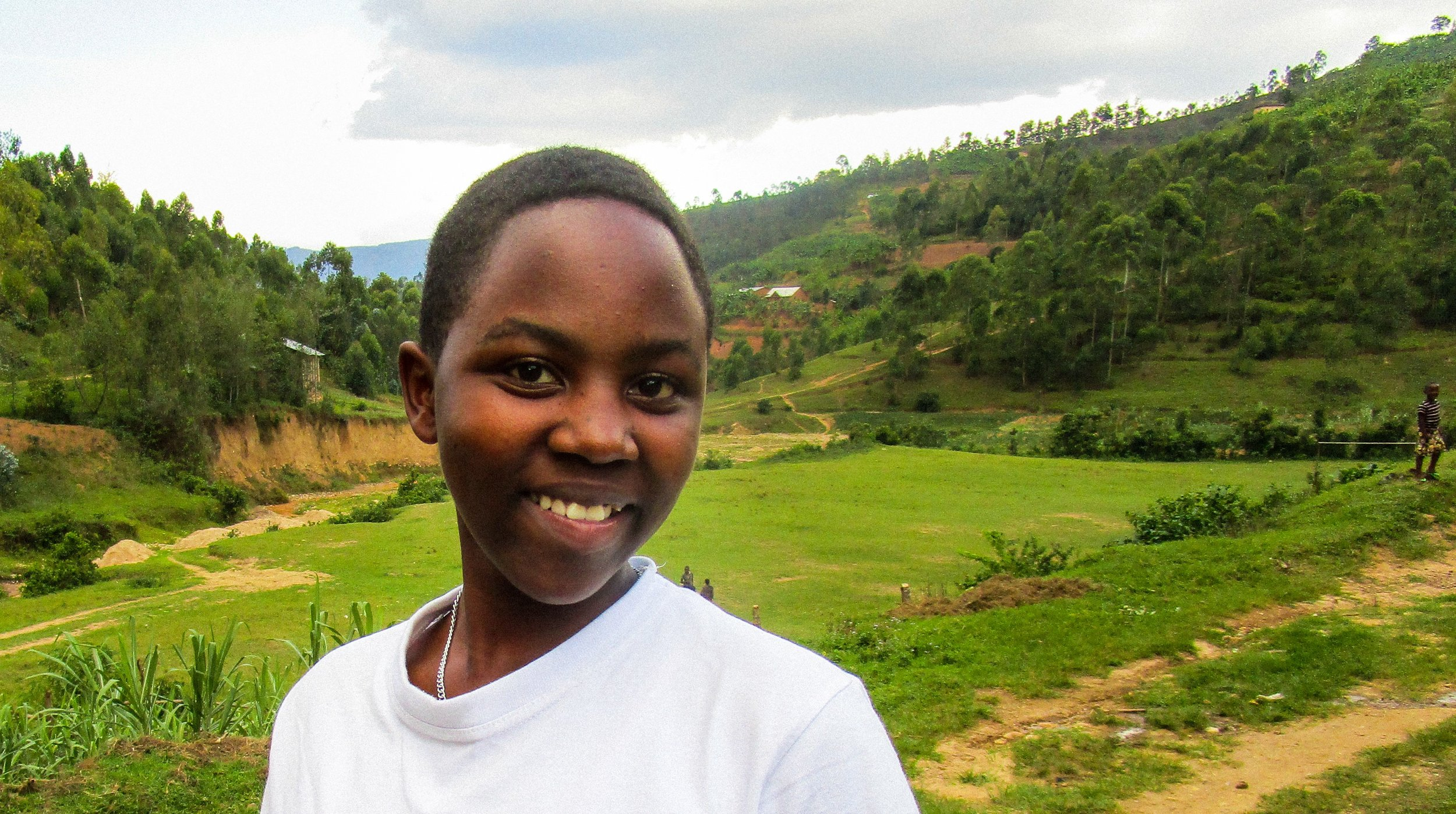 """""""The best skill we get is self-confidence... Now even if our project fails, we can try again."""" - - Fausta, Secondary Student, Rwanda"""