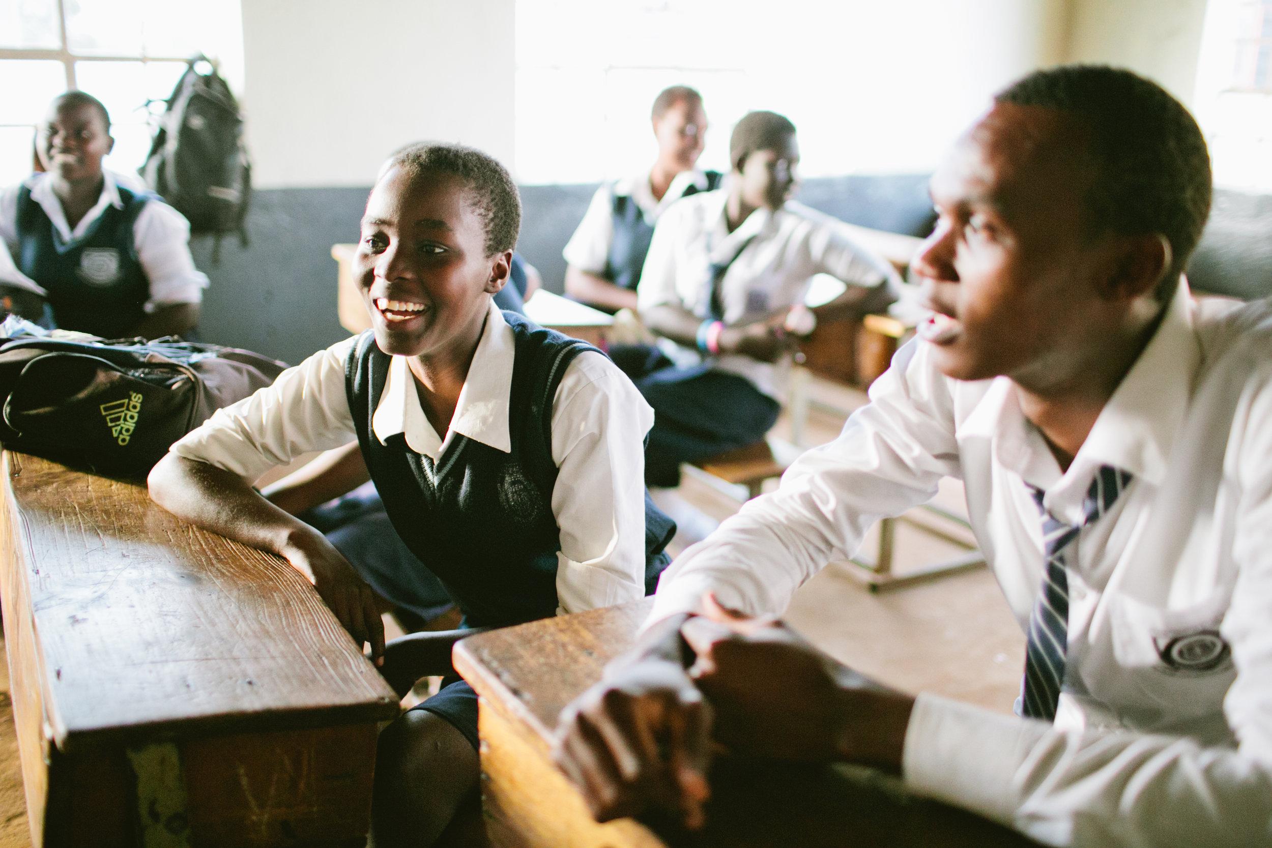 Scholars at Najjanankumbi Young Christian Secondary School.jpg