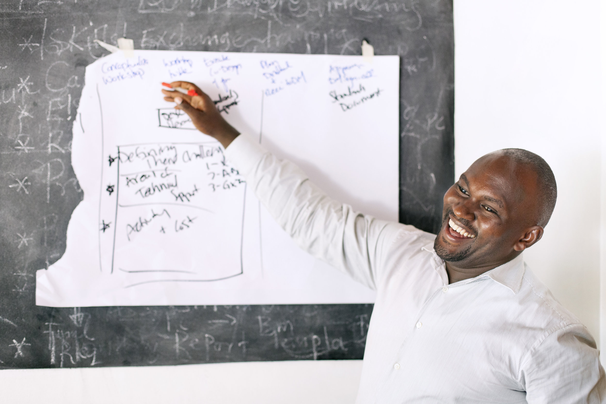 """""""It makes me so happy to hear that someone has improved because I was able to contribute to them. I personally believe that every person has the ability to be a genius."""" - Muzito Anthony Kaiso, Regional Training Specialist"""
