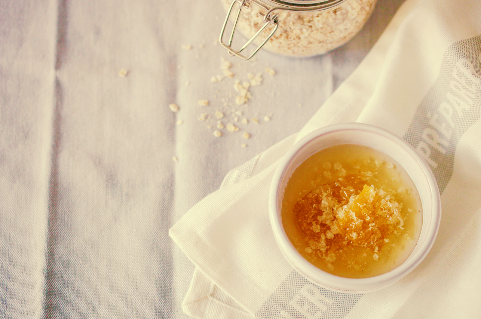 Oatmeal + Honey