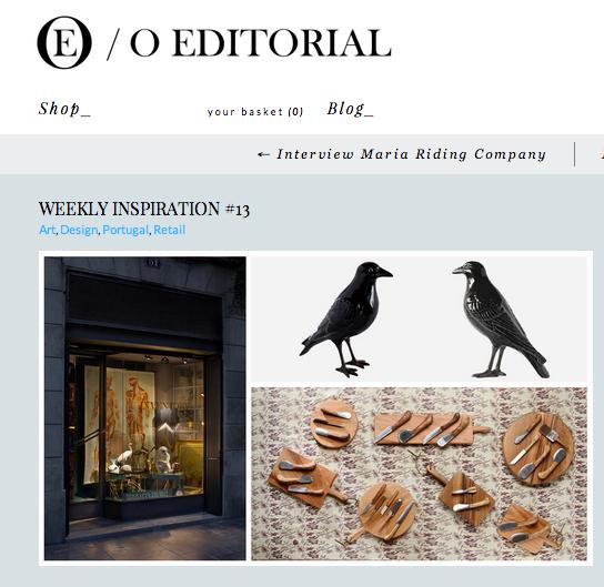 <p><a>O EDITORIAL</a>NOVEMBER, 2013</p>