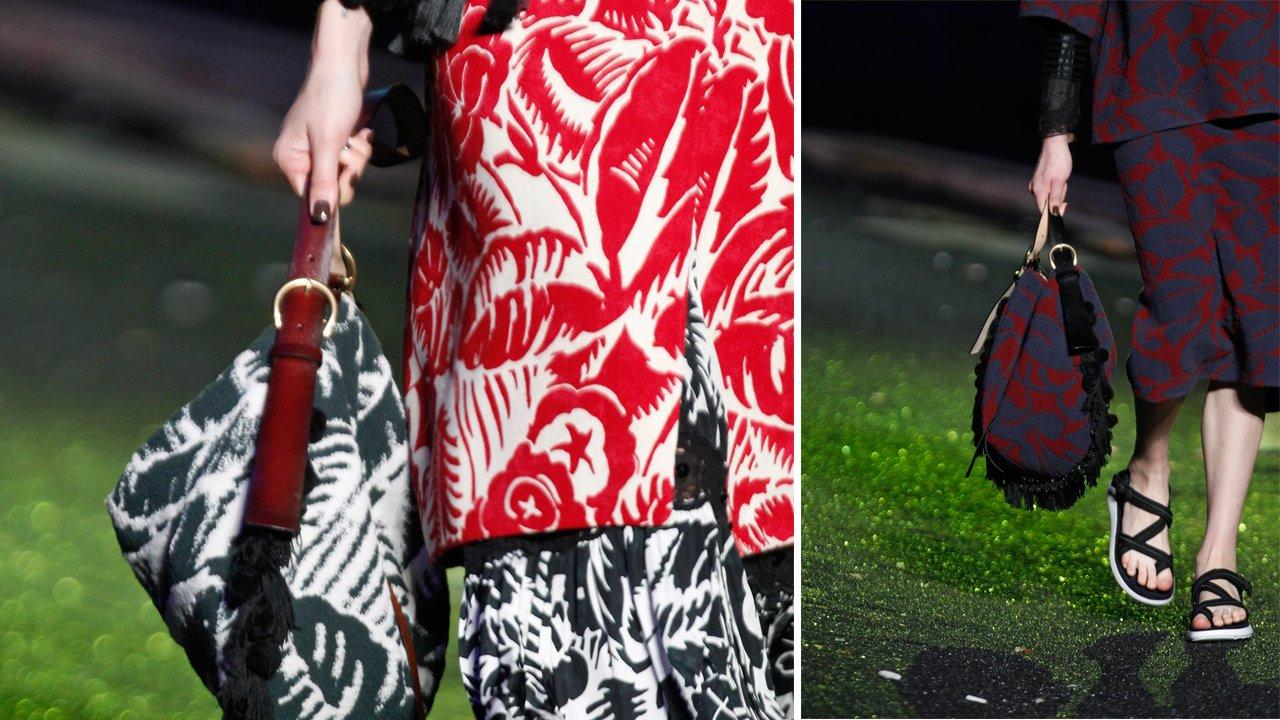 Bag details at Spring '14.