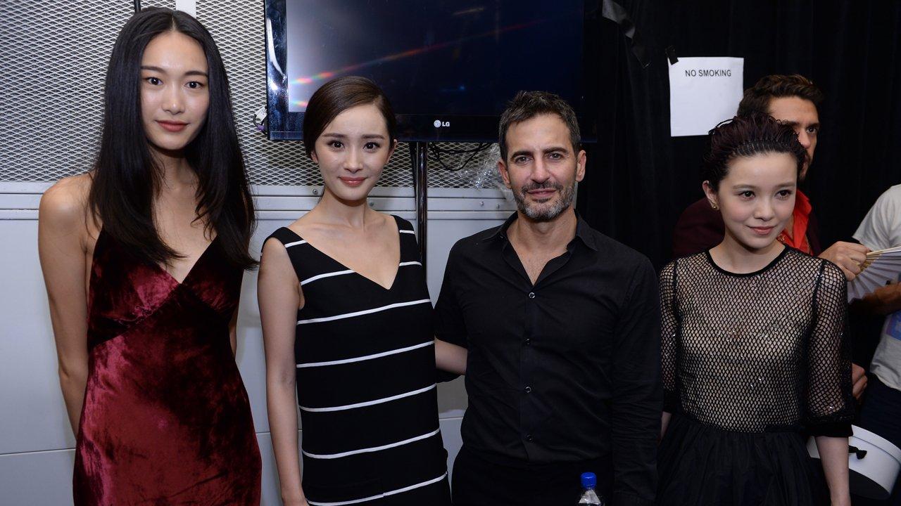 Qin Shupei, Mini Yang, Marc Jacobs, and Amber Kuo