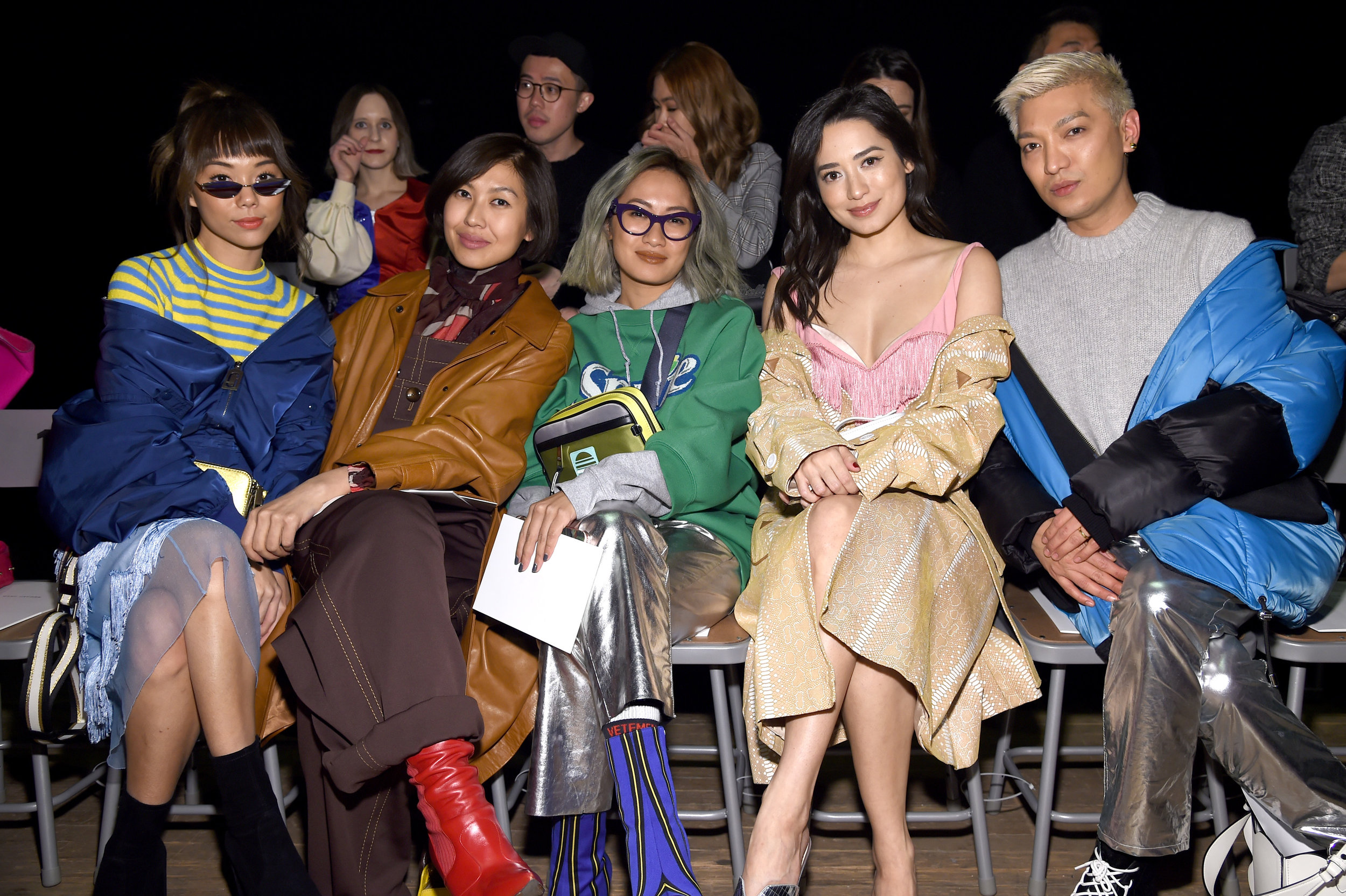 Andrea Chong, Liz Uy, Laureen Uy, Nicole Andersson and Bryan Boy