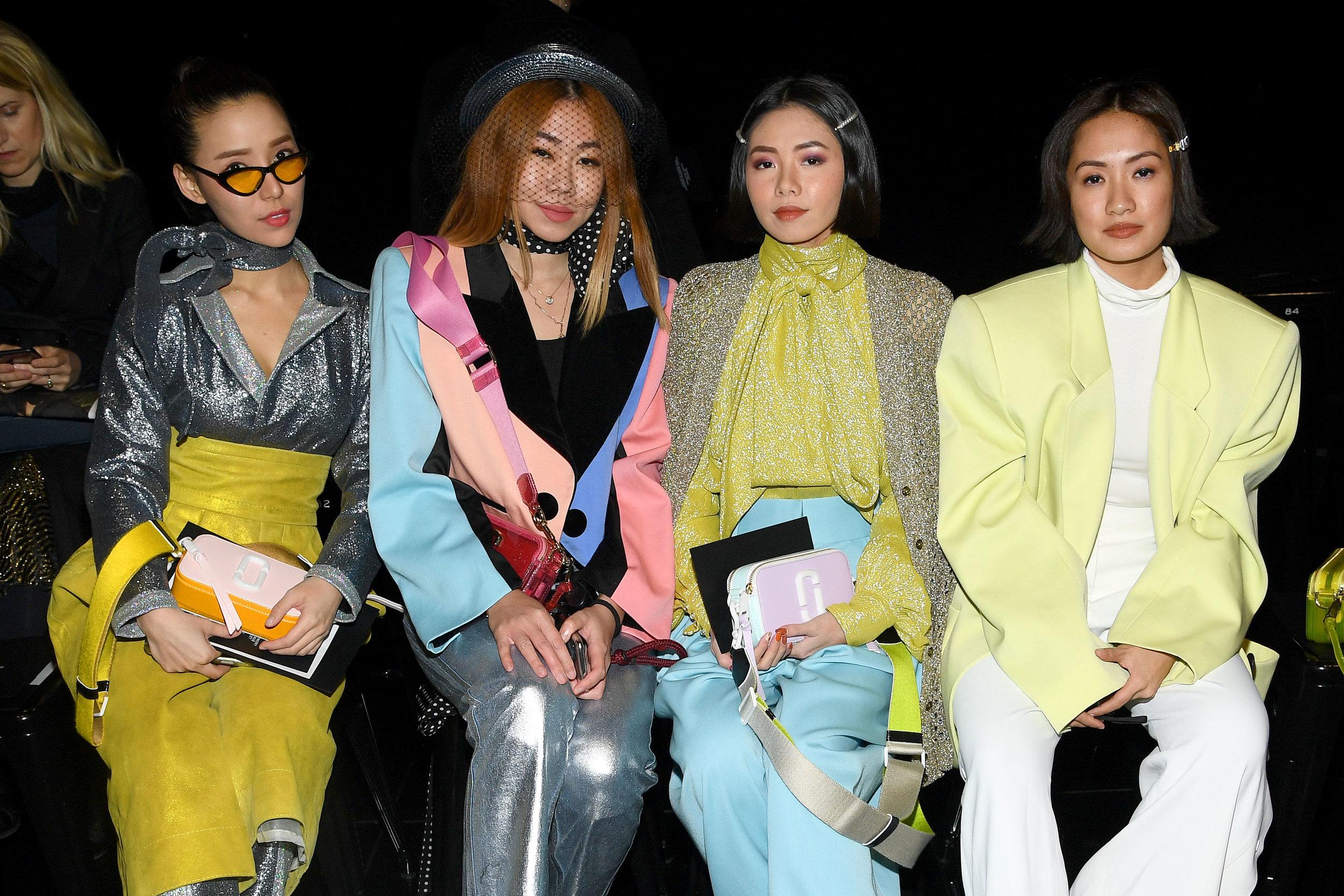 Venice Min, Nellie Lim, Olivia Lazuardy and Laureen Uy.JPG