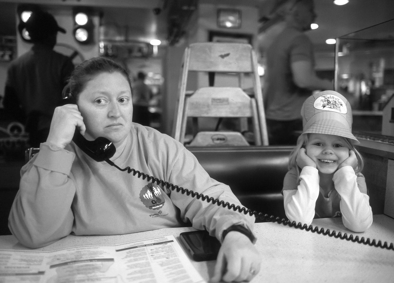 Kansas City diners, Mamiya 645, HP5 @ 1000,Dr5