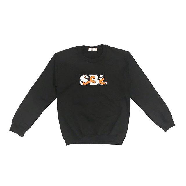 SBi Serpent Bubble Crewneck Sweatshirt.