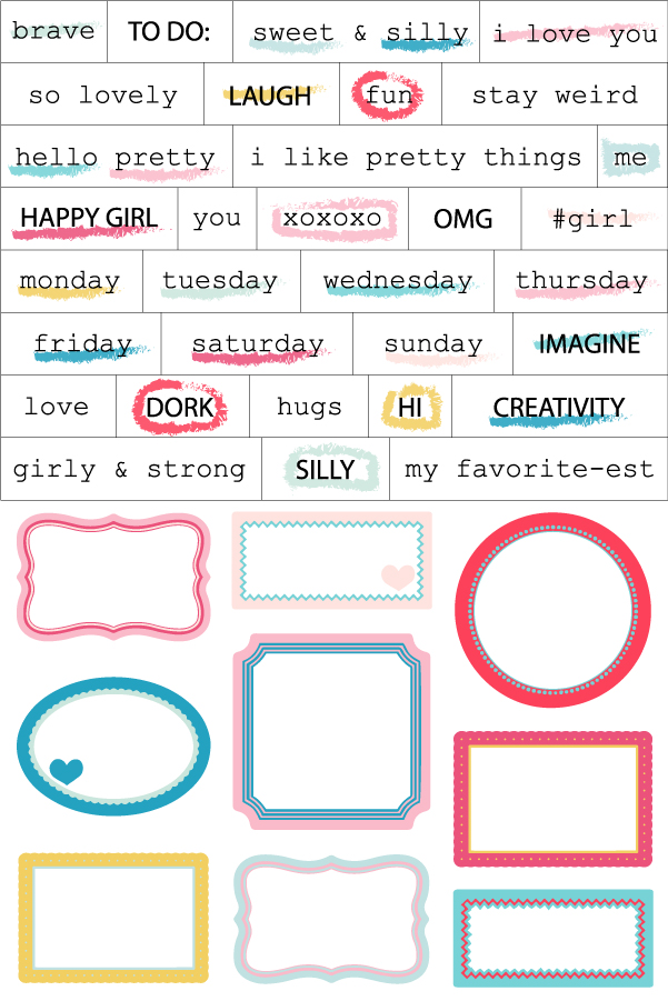 Girly and Strong - Label Sticker Sheet.jpg