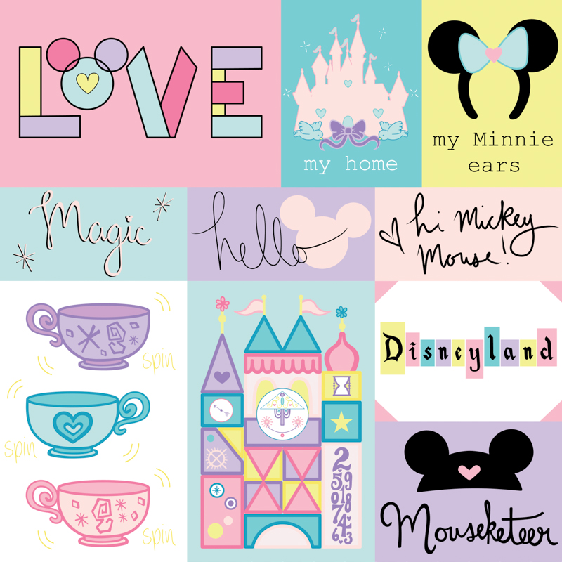 The Wonderful World of Disney - Hi Mickey Mouse, Side A.jpg