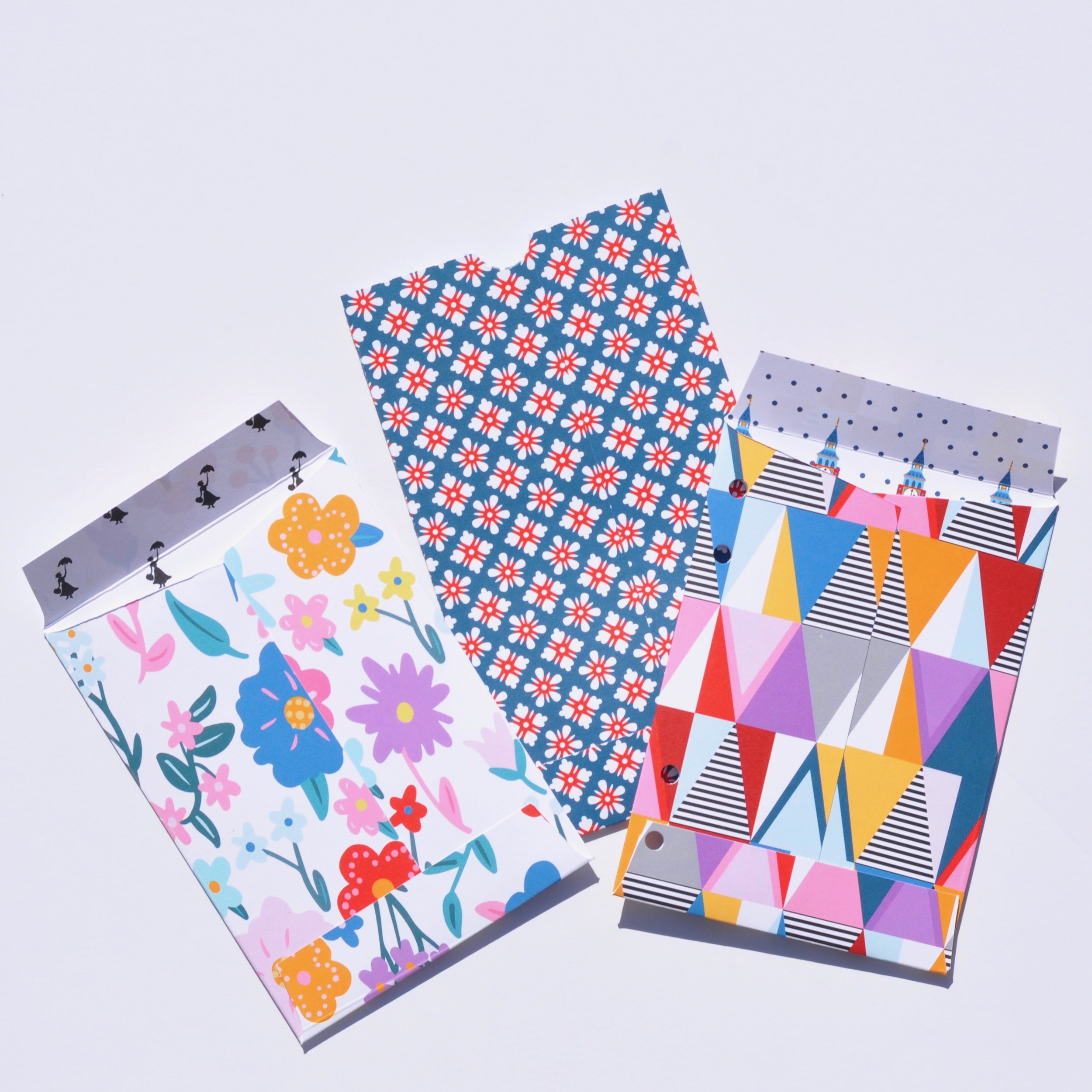 Now I can store loose bits and pieces I have collected in these pockets inside my album. I could also use this envelope to send some snail mail. The Possibilities are endless, because you can create these envelopes at any size! you could even add them to a scrapbook layout!