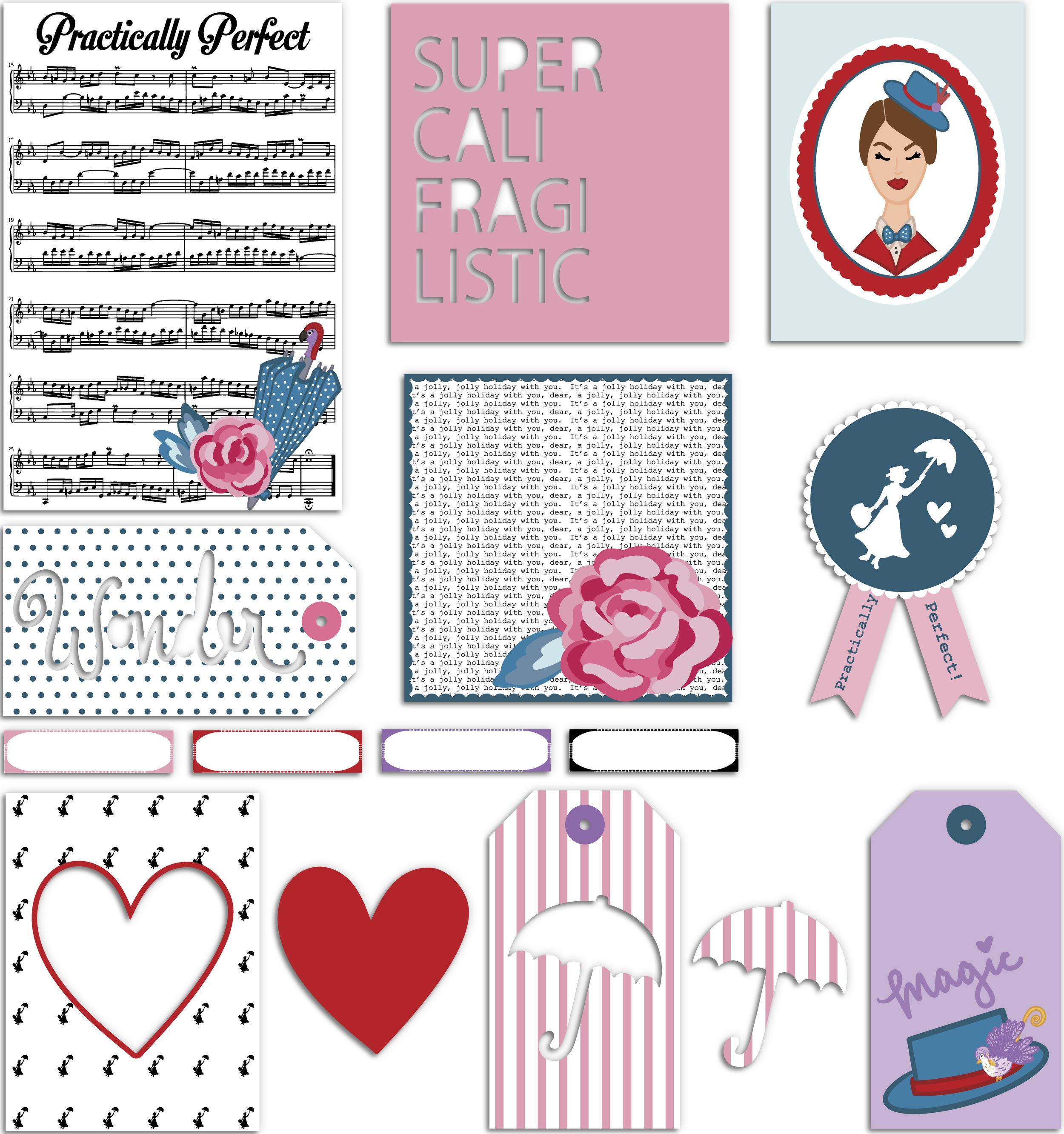Practically Perfect - Stationery Pack with shadows.jpg
