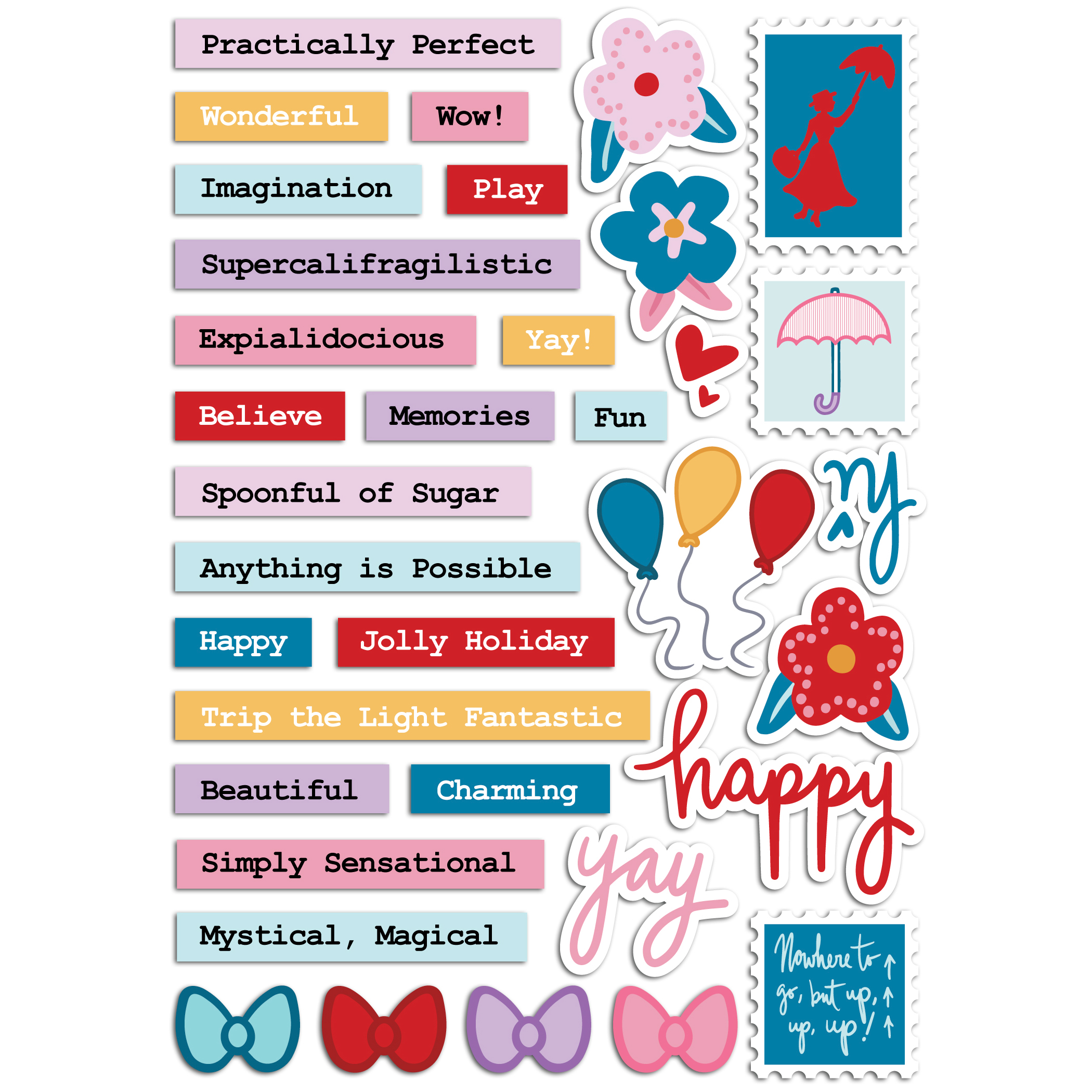 Practically Perfect - Sticker Sheet with shadows square.jpg