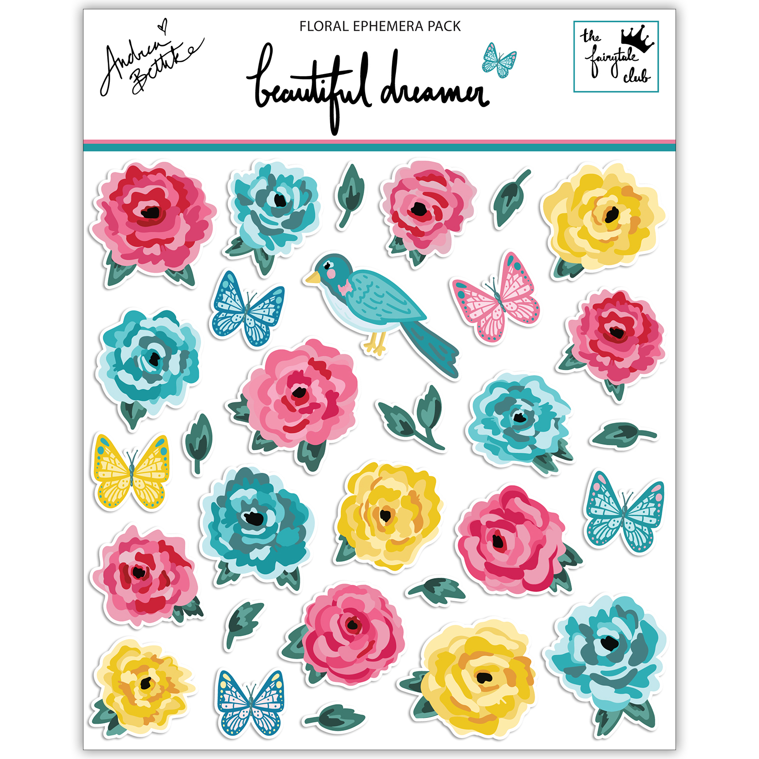 Beautiful Dreamer - Floral Ephemera Packaging square.jpg