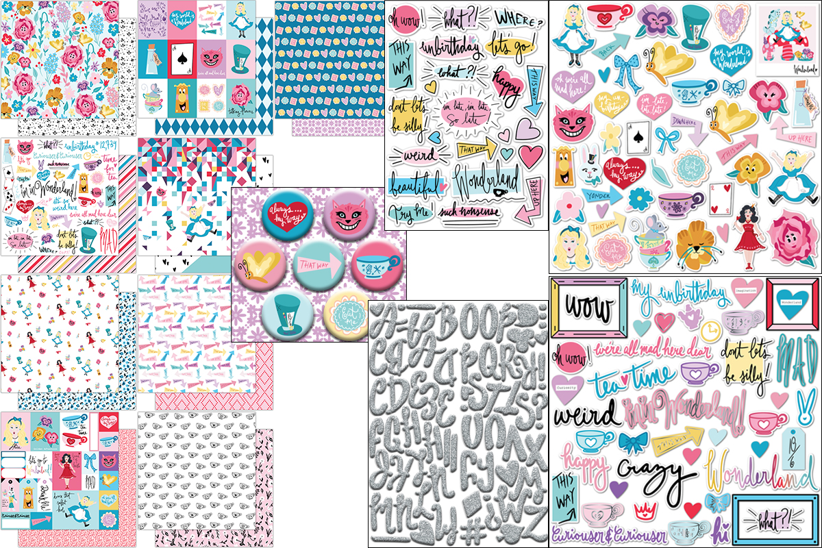 I'm in Wonderland - Scrapbook Block.jpg