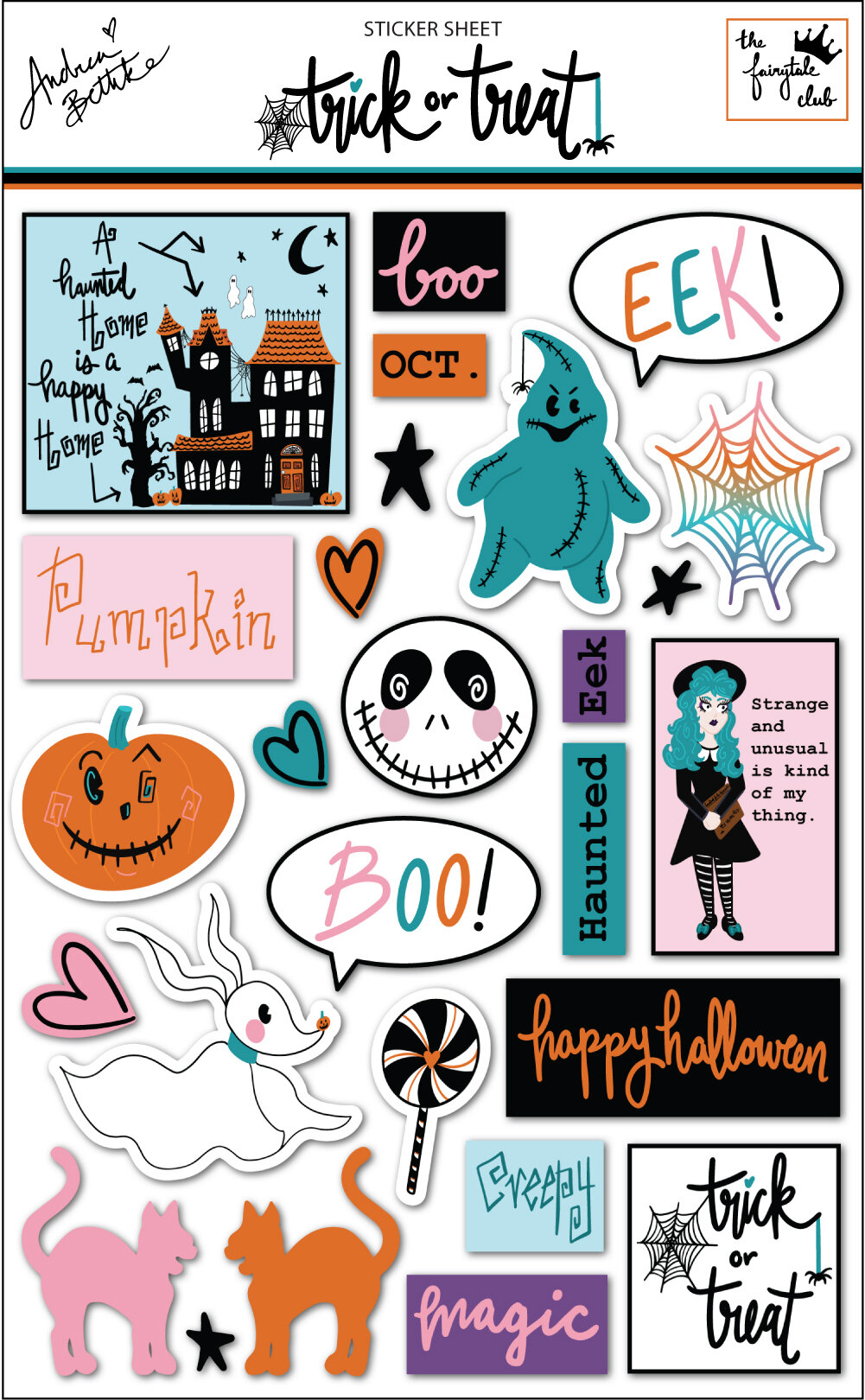 I'm in Wonderland - Stickers with outline.jpg