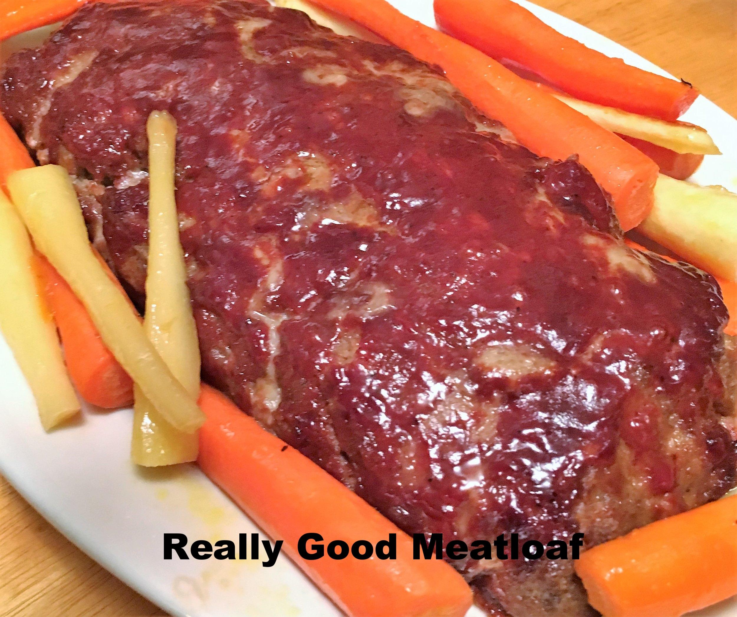 Really Good Meatloaf from JenniferJuniper.net