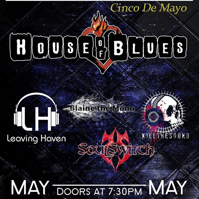 May 5th! Request some free tickets at www.blainethemono.com/tickets