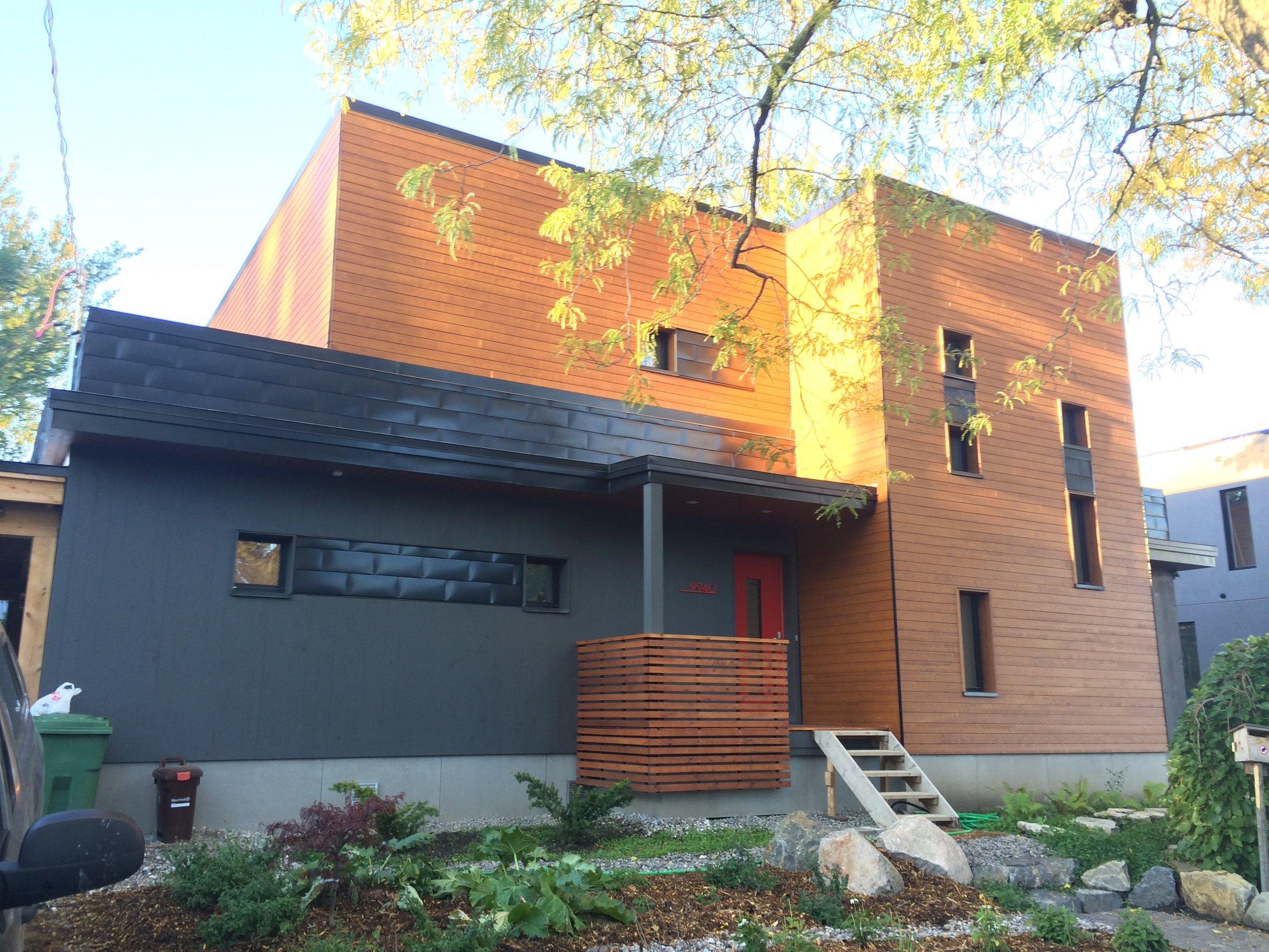 Maison Ozalee, Montreal QC 2016