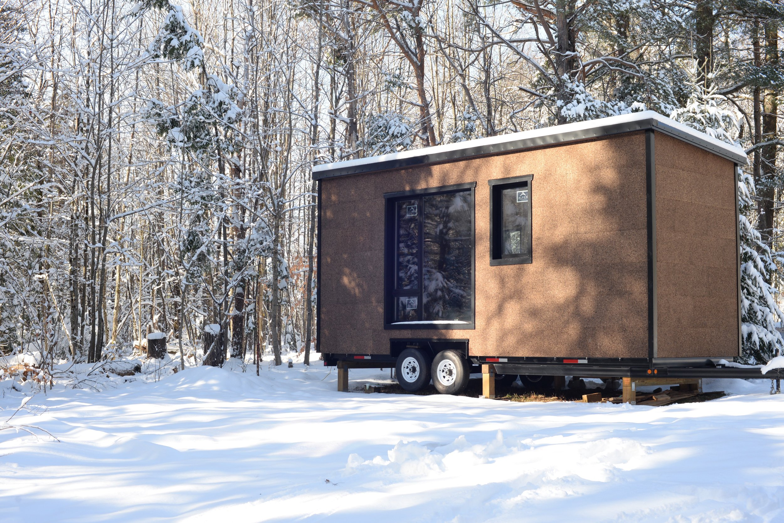 Tiny home in New York State, USA, 2016