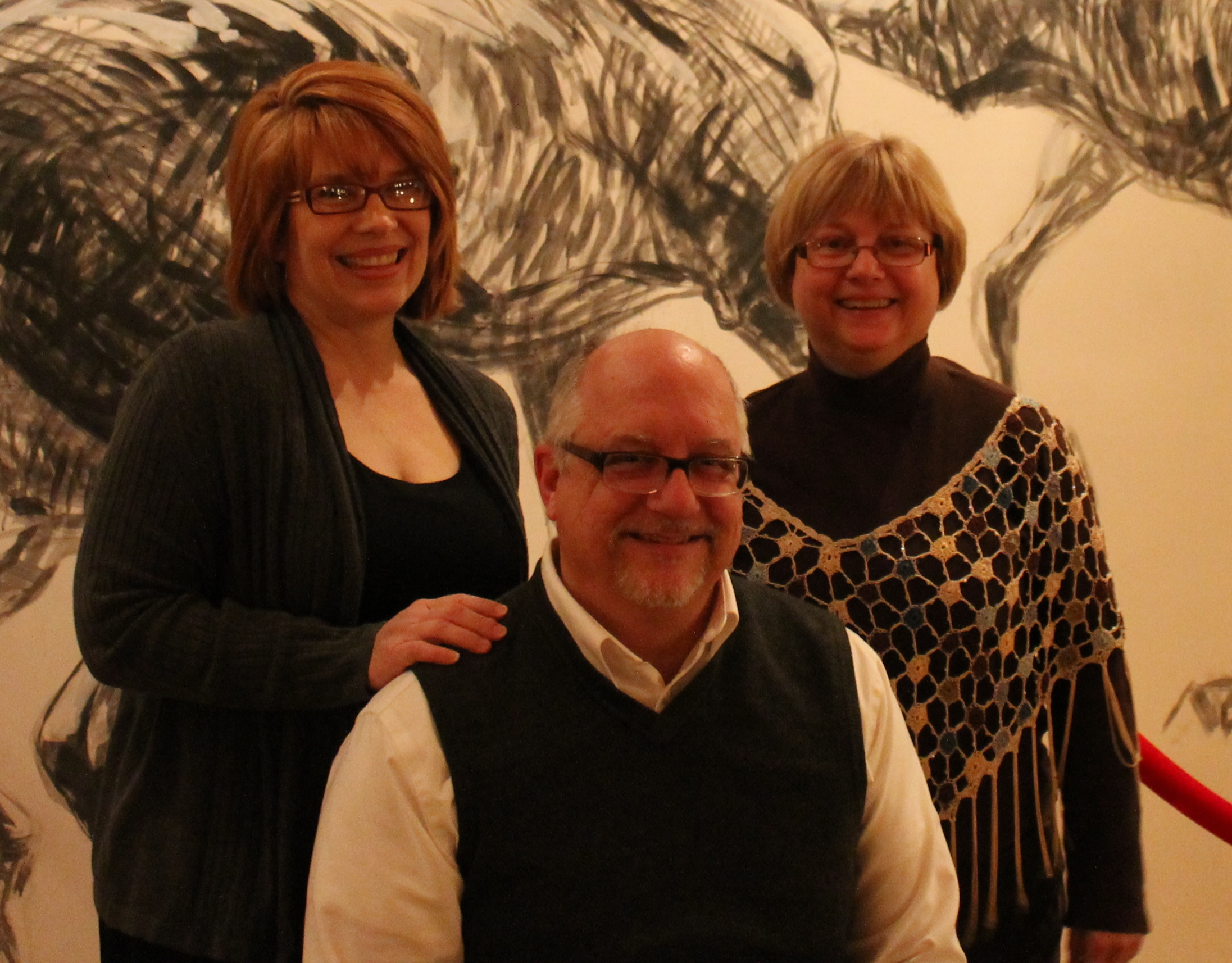 Left to right, Sheri, George, and Jackie.