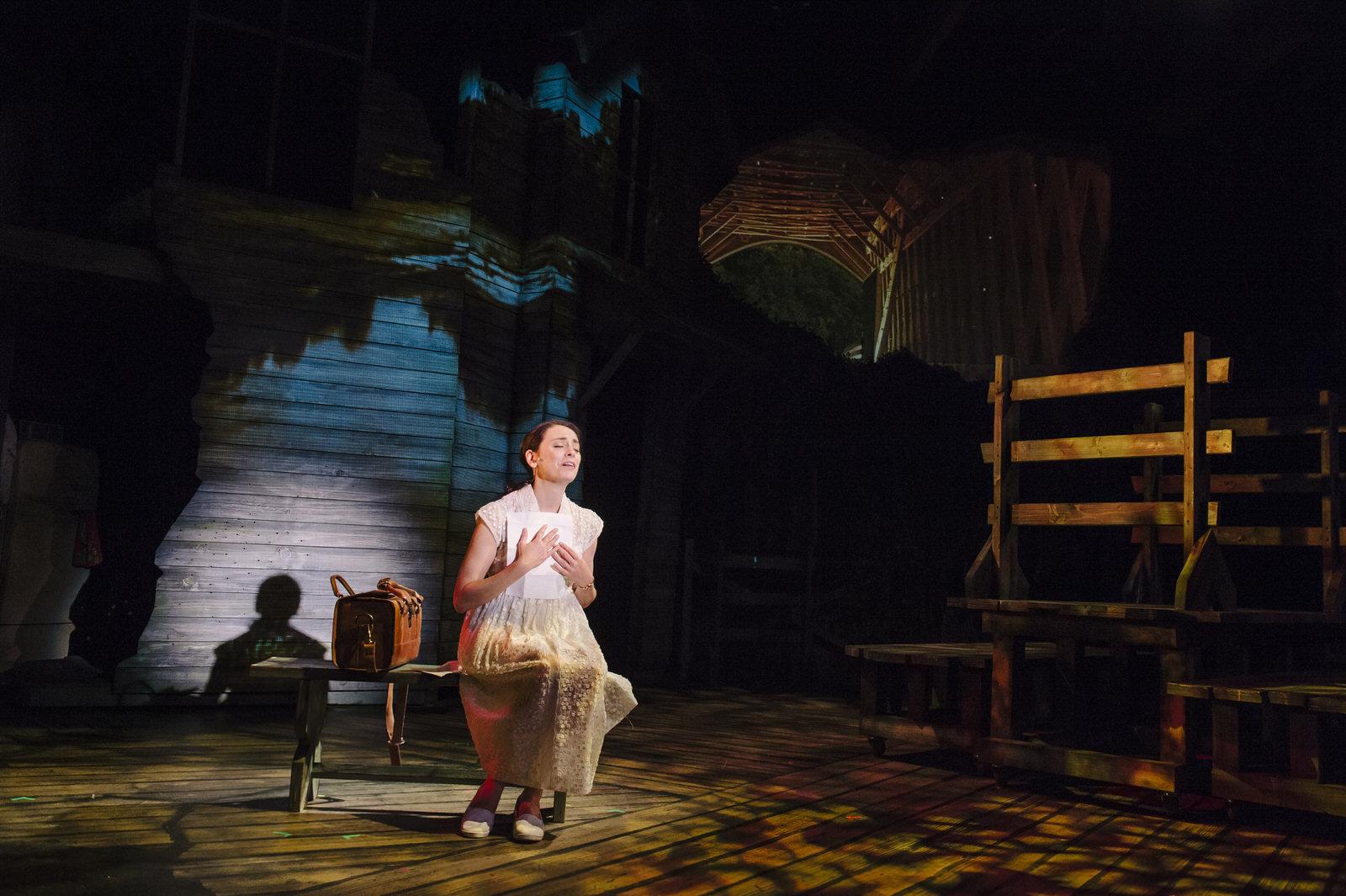 Susan Derry as Francesca in Bridges of Madison County at Keegan Theatre