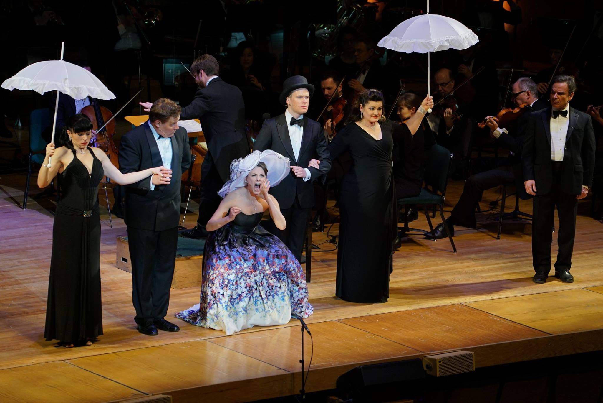 Susan Derry as Eliza in My Fair Lady with Utah Symphony
