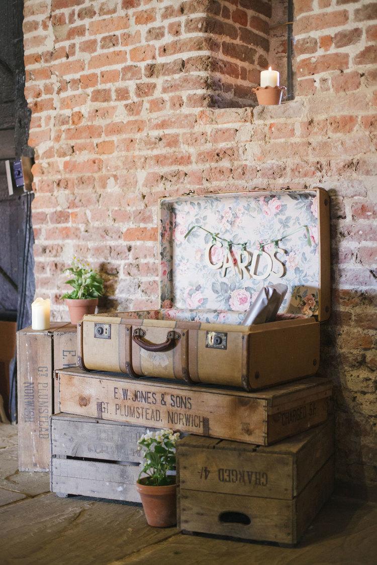 Suitcase £8               Crates £4