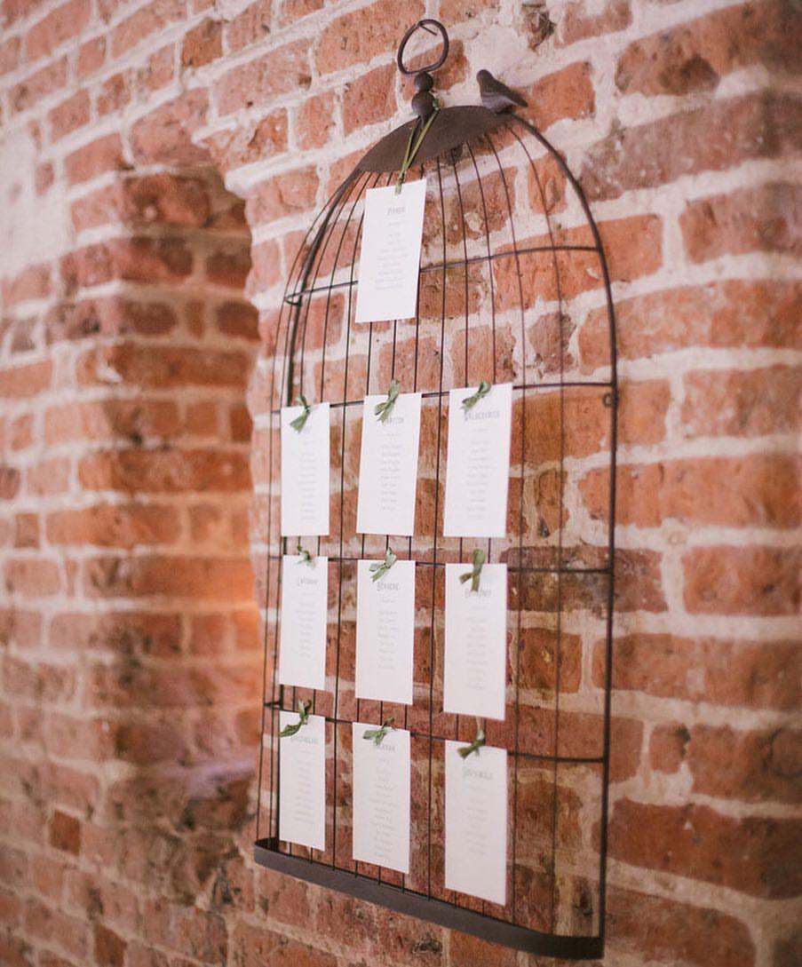 Birdcage Table Plan £5