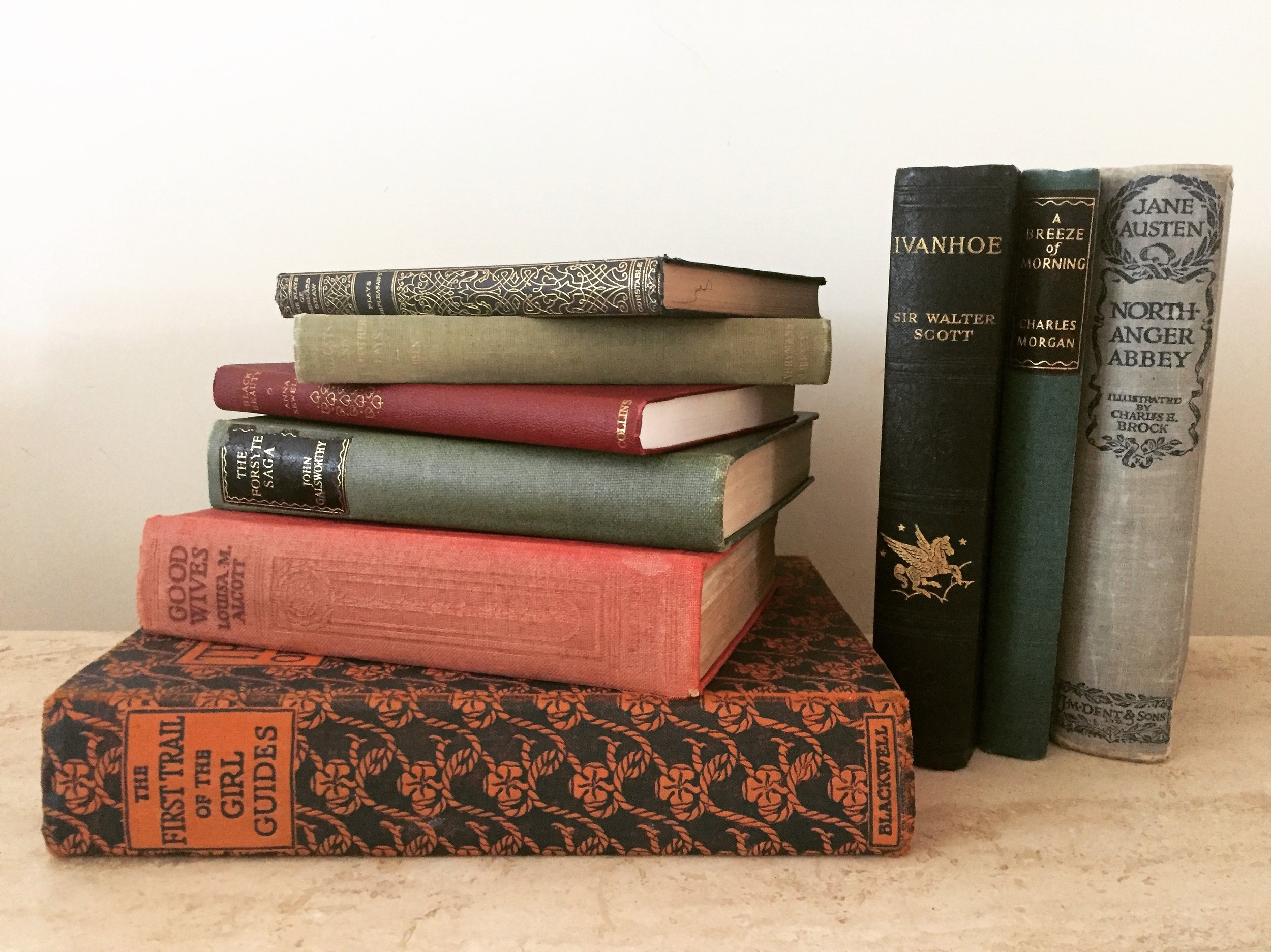 Vintage Books (small selection shown)