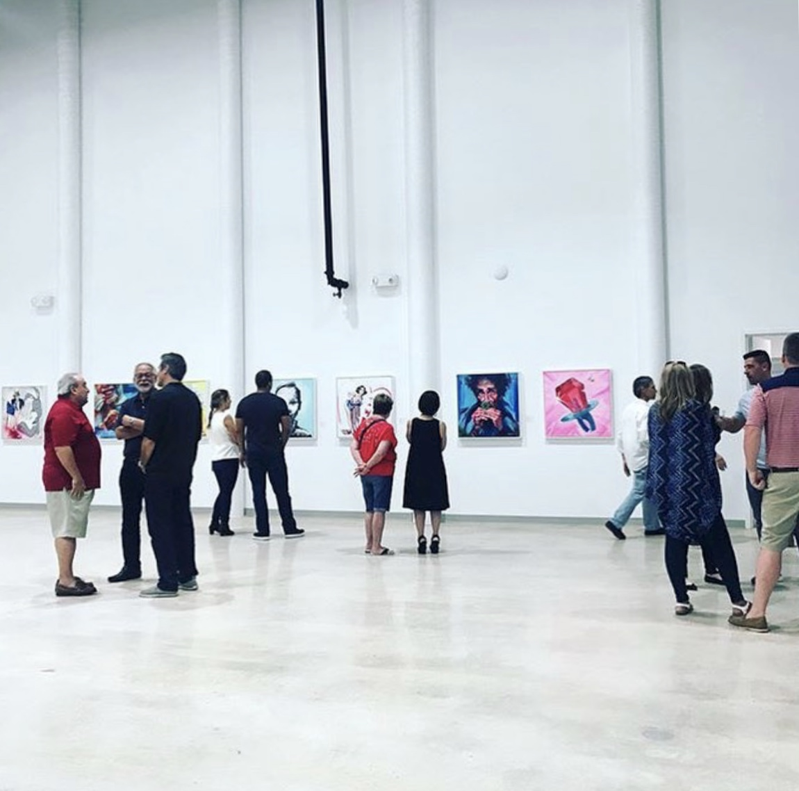Self Titled Solo Exhibition |  9 Crimes Sugarcoated  | Arts Warehouse Delray Beach, FL | June 2018
