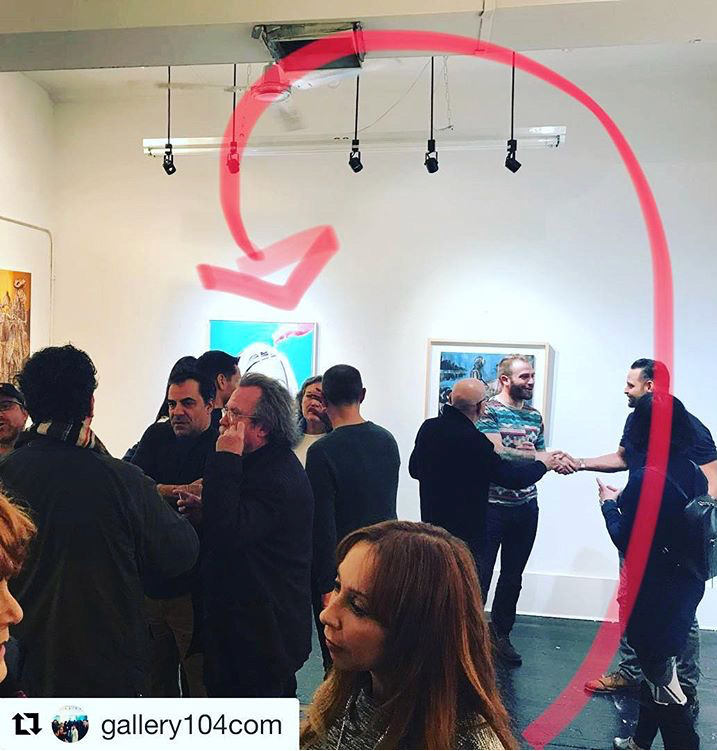 """Group Show featuring  """"Pink's Partner""""  