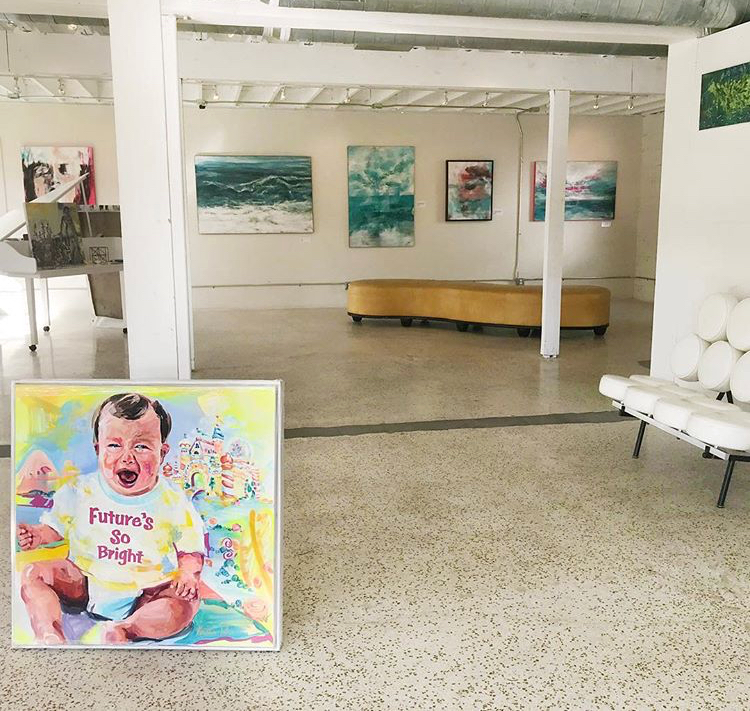 """Group Show featuring  """"Future's So Bright""""  