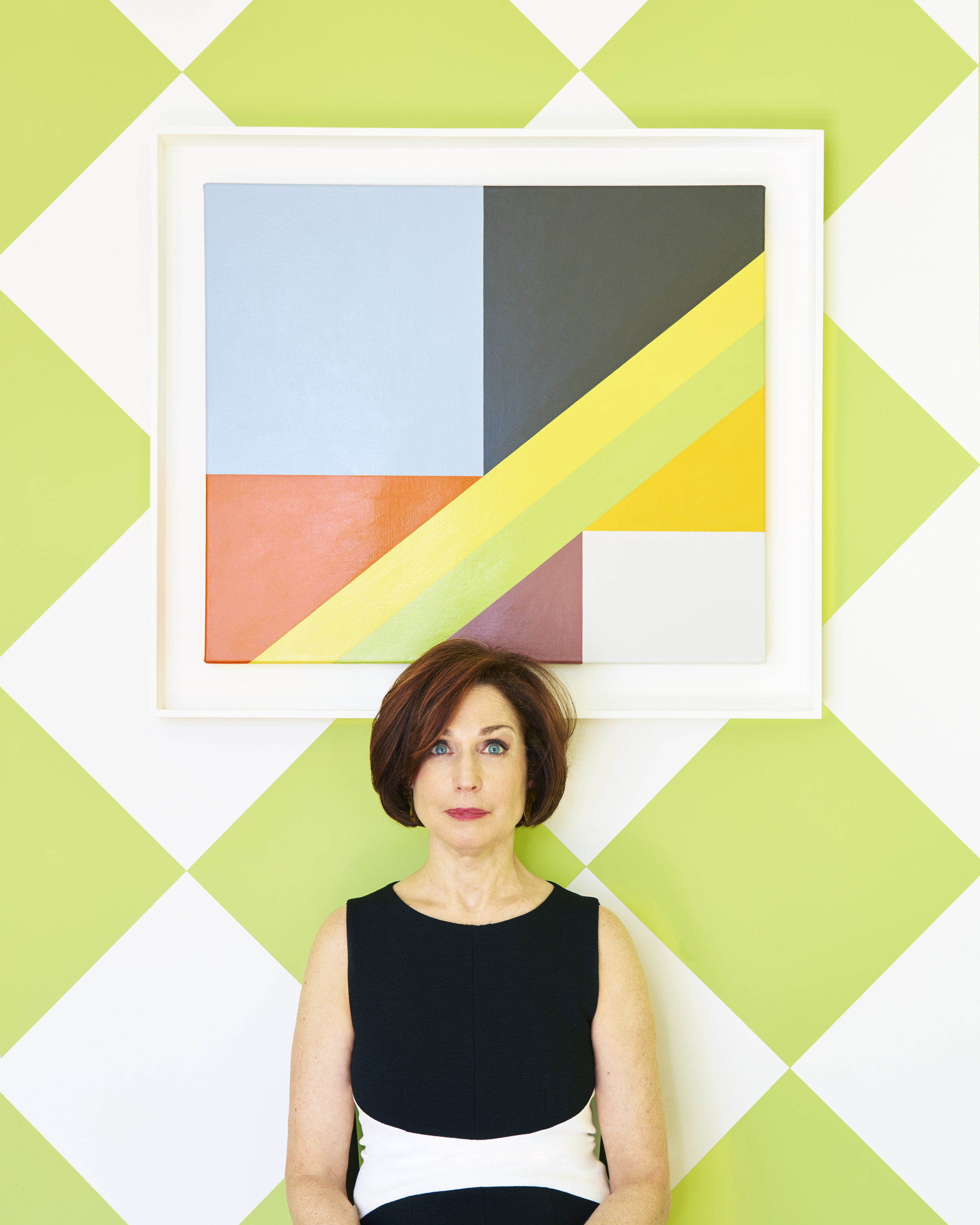 portrait of judith seligson, artist. PHOTograph by Kyle Knodell. Courtesy Paddle8.