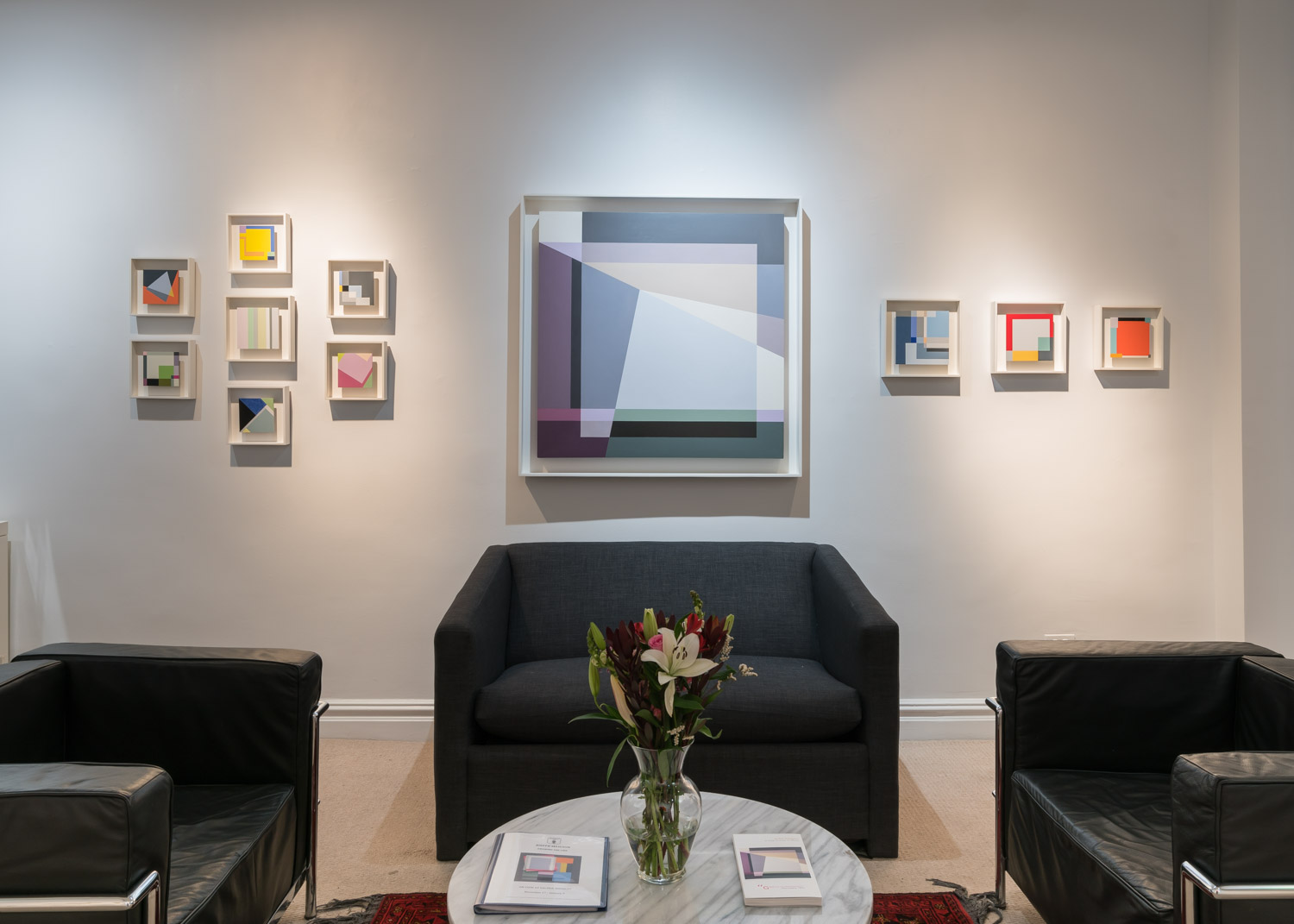 Installation view of my solo exhibition Drawing the Line at Galerie Mourlot. Photograph by Kris Graves.