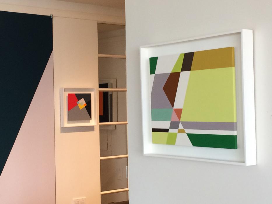 Judith Seligson, Insurrection , 2012, Oil on panel, 16 x 22 in.
