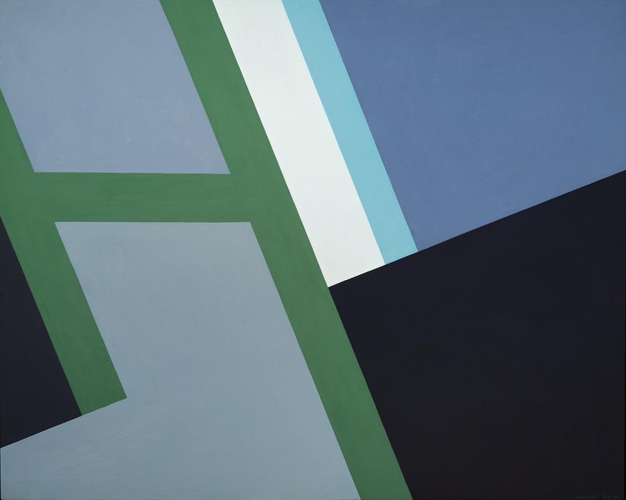 Judith Seligson, Gulet , 2012, Oil on panel, 20 x 27 in.
