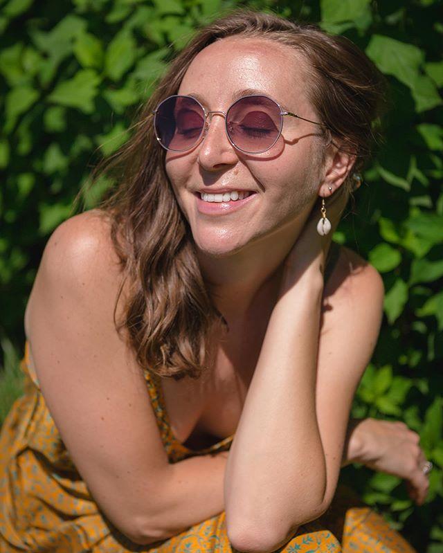 Soak up the sun.  Model: @hachichachi  Creative Direction: @kaypasa_  Wardrobe: @splendorrevival  Location: @sunnymeadowsflowerfarm  Sunglasses: @discountglasses . #splendorrevival #asseenincolumbus #girlgaze #pursuitofportraits #makeportraits