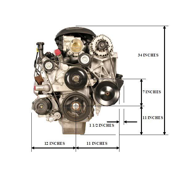 Engine Dimensions — BD Turnkey Engines LLCBD Turnkey Engines LLC